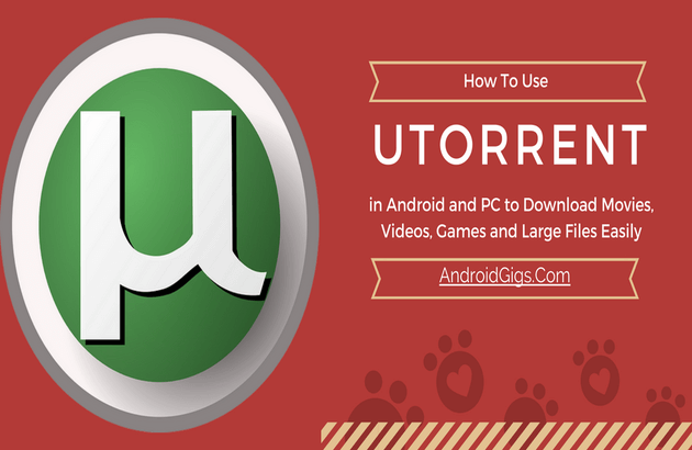 how to use utorrent in android and pc