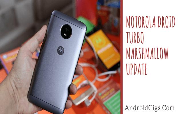 Droid Turbo Marshmallow 6.0.1 Update For Motorola
