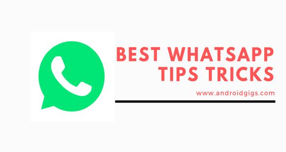 best whatsapp tips trick hacks