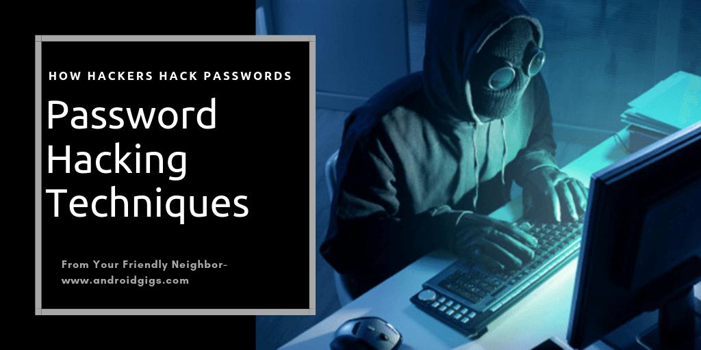 password hacking techniques