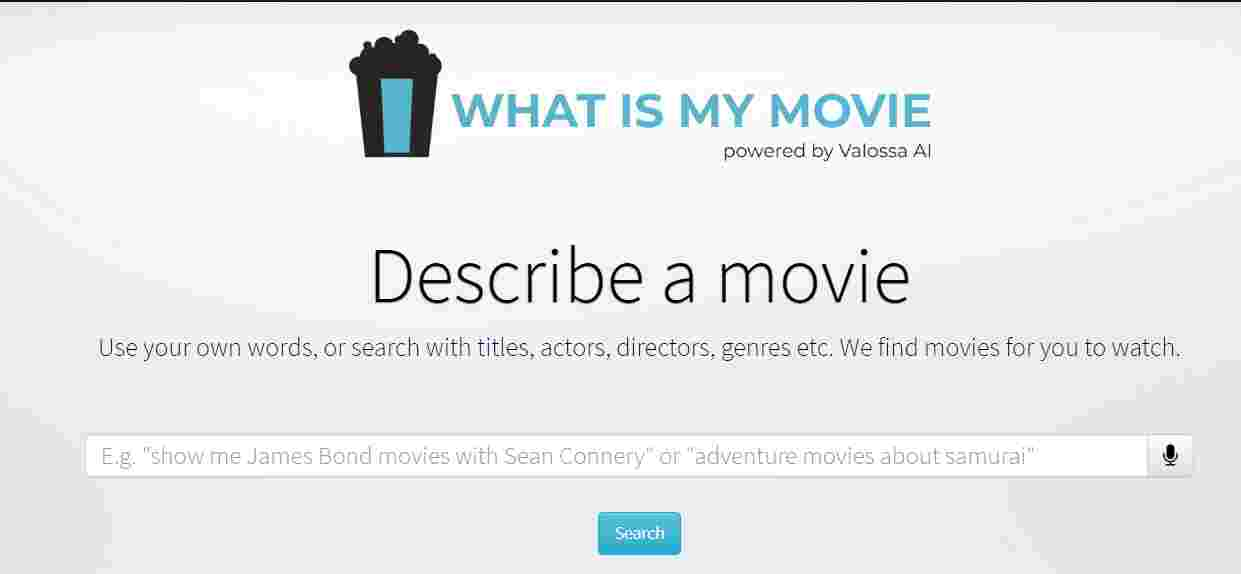 find name of movie by scene