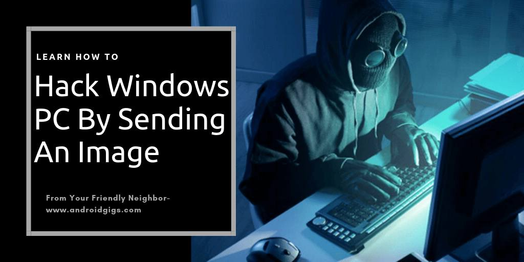 how to hack windows pc by image