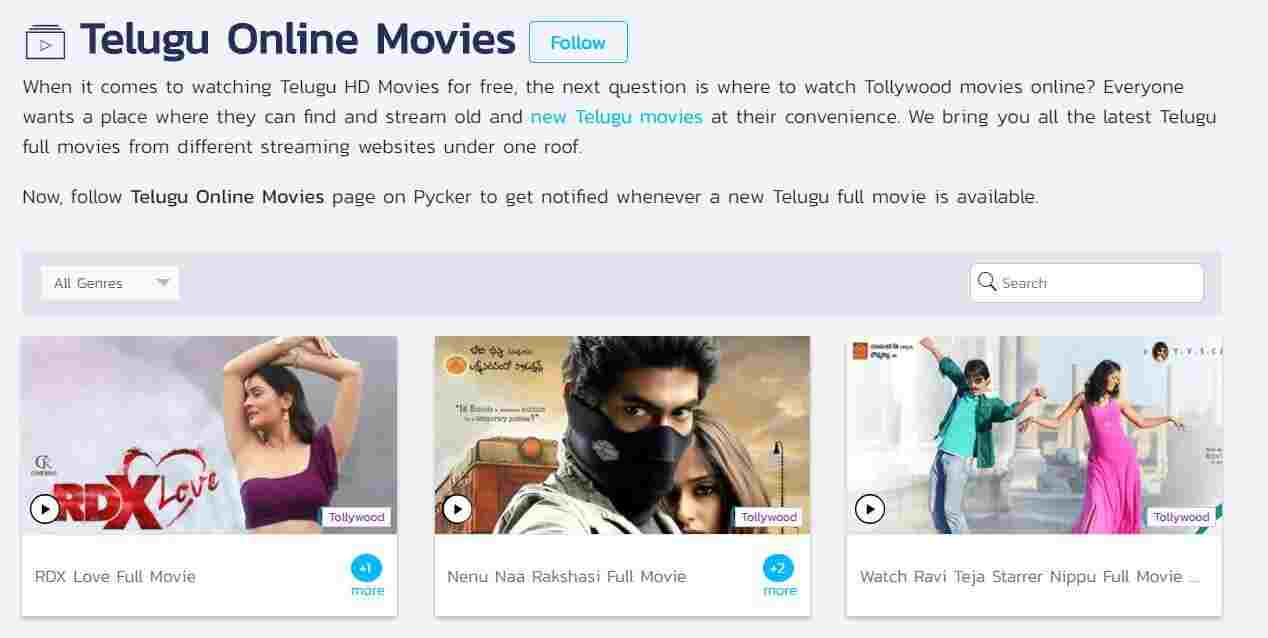 watch latest telugu movies online for free without buffering