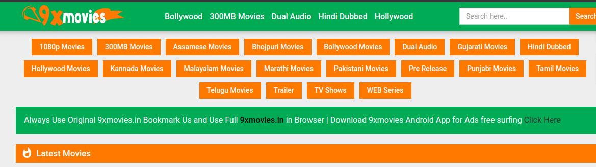 9xmovies app apk download