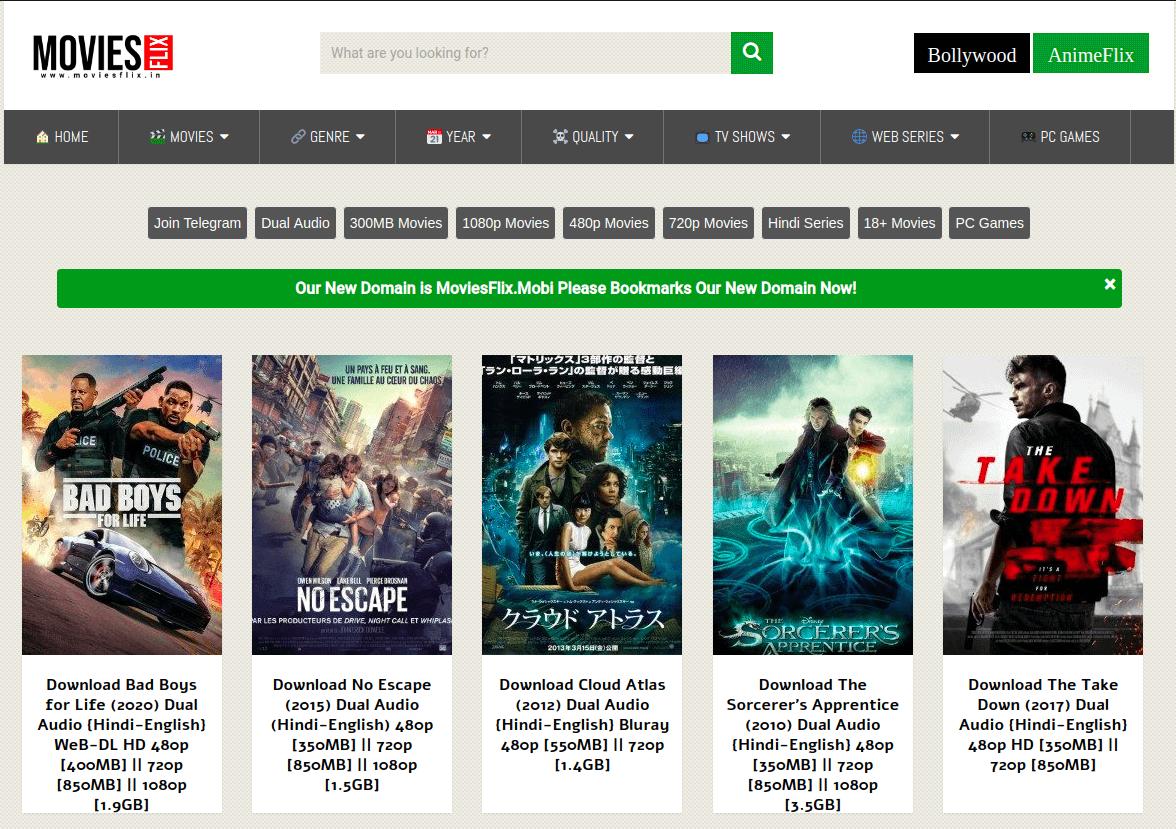 moviesflix hollywood hindi dub movies download