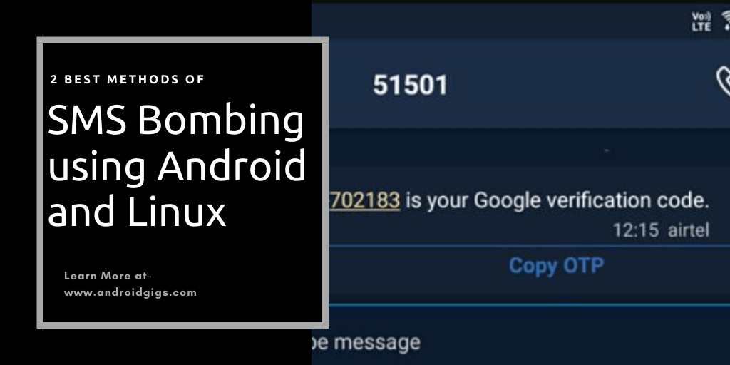 sms bombing tutorial