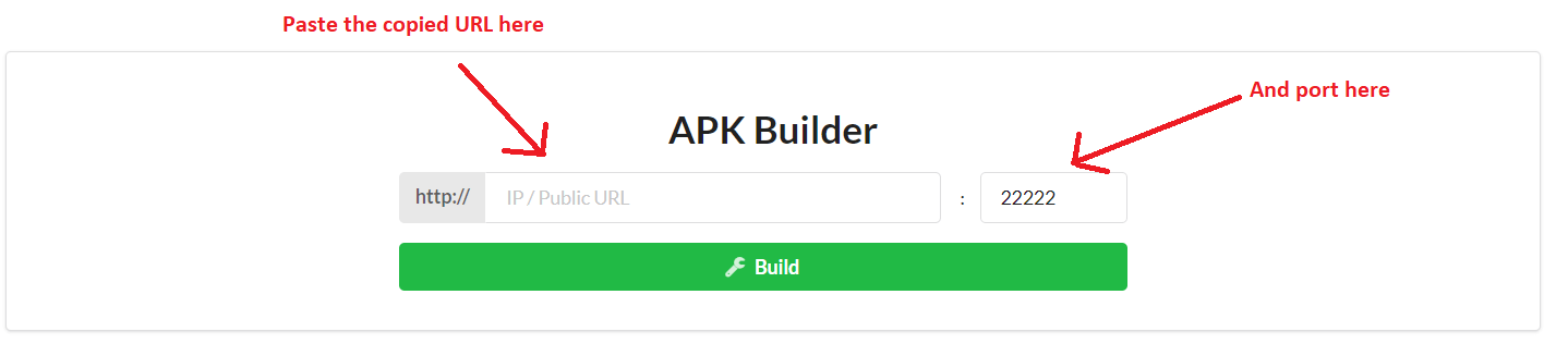 create apk L3MON RAT